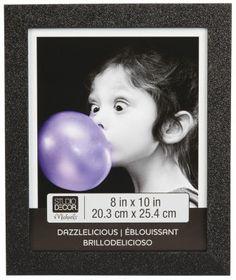 "8""X10"" Dazzlelicious Glitter Frame, large"