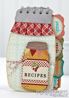 Canning Jar Recipe Book - bjl