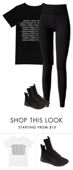 """""""Untitled #601"""" by larryisreal123 ❤ liked on Polyvore featuring Puma"""