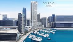 Vida Residences at Dubai Marina Price Starts at 1,068,888 AED Vida Residences is a new 50-floor tower built right above the Marina Yacht Club. The residential tower is perfectly situated in Dubai Marina, being home to the city's best dining, entertainment and leisure facilities, and the first choice for the stylish and sophisticated. The tower offers 1-Br, 2-Br, 3-Br & 4-Br waterfront apartments overlooking a luxurious yacht community and is located minutes away from the Dubai Marina Mall.
