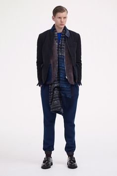 Sacai | Fall 2013 Menswear Collection | Style.com