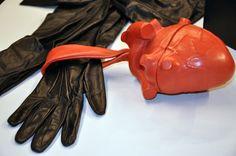 Natalia Brilli - pochette coeur en cuir d agneau Anatomical Heart, Backpack  Bags, 0b417909bbc