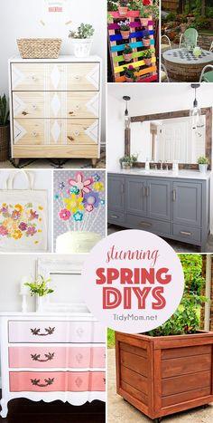 Stunning Spring DIYs