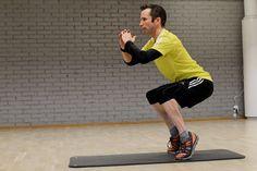 Tre bra övningar mot löparknä   Runner's World