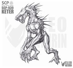 SCP 939 by Kanoro-Studio on DeviantArt