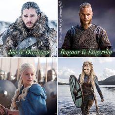Jon & Dany or Ragnar & lagertha ( Vikings ) ? 👀⚔️   #gameofthrones #got #kitharington #asoiaf #emiliaclarke #kitharington #maisiewilliams #peterdinklage #lenaheadey #nataliedormer #sophieturner #nikolajcosterwaldau #gwendolinechristie #alfieallen #caricevanhouten #johnbradleywest #catelynstark #daenerys #jonsnow #aryastark #tyrion #cersei #themountain #oberyn #shameshame #gameofthrones #got #hbo #vampirediaries @ Cersei, Daenerys, Alfie Allen, Catelyn Stark, Nikolaj Coster Waldau, Lagertha, Natalie Dormer, Kit Harington, Lena Headey