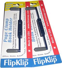 FlipKlip Book Holder 2Pak for Knitting Crochet or Needlework *** Check out the image by visiting the link.