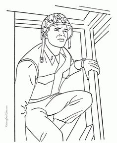 army and navy printables to color | 4th of july & memorial day ... - Military Coloring Pages Printable