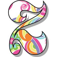 Letter - Letter Z - Old Style - Retro letters Bubble Letters Alphabet, Alphabet Letters Design, Alphabet Templates, Alphabet Stencils, Alphabet Art, Applique Templates, Monogram Alphabet, Monogram Fonts, Art Classroom Decor