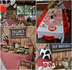 Farm Barnyard Party Ideas