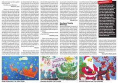 Część 3. Dzieciaki napisały ponad 400 listów do Świętego Mikołaja i wysłały je przez redakcję Tygodnika Ostrołęckiego. My przyklejaliśmy znaczki ;-)