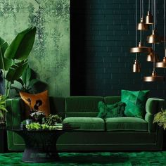 Find tons of mesmerizing green living room ideas that will totally inspire you! Pick the best one that you really love now! Living Room Furniture, Living Room Decor, Wooden Furniture, Antique Furniture, Living Area, Living Rooms, Furniture Design, Outdoor Furniture, Color Of The Year 2017