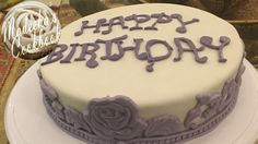 DIY: How To Make Moist, Dense and Soft Vanilla Cake Covered With Fondant...