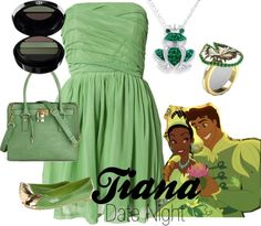 """Tiana-Date Night"" by amarie104 on Polyvore"