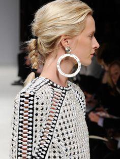 Spring Hair Trends: Messy Braids  #HairTrends #Spring #Fashion #Braid