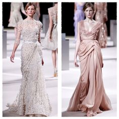 Elie Saab SS 11  Love the one on the left