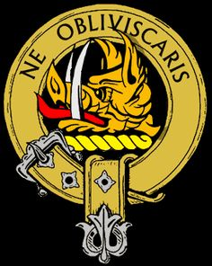 Campbell Clan Crest -- One of the most historic clans in all of Scotland.