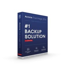 Acronis True Image 2016 Backup and Recovery