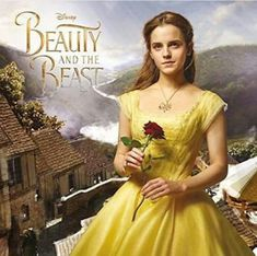 Promotional still of Emma Watson as Belle in Beauty and the Beast movie.