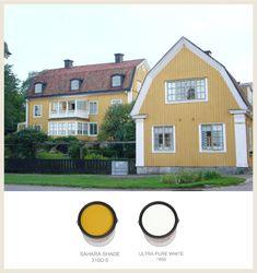 Colors of Swedish Architecture (Behr Paints)