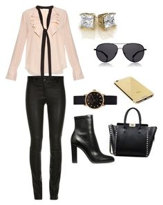 """""""London Nights"""" by sndrcandelario on Polyvore featuring Chloé, Valentino, The Row, Marc by Marc Jacobs, Goldgenie, women's clothing, women's fashion, women, female and woman"""