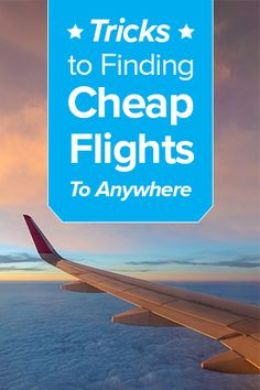 Top 10 Tips for Finding Low Airfares