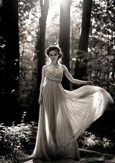 She emerged from the earth and she moved with the wind. She was not of this world, she was something from a storybook...