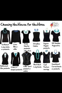 Necklaces for neck lines!