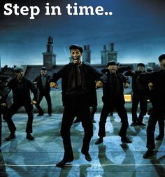 Day 20: favorite musical number - Step in Time from Mary Poppins! It's amazing all the dancing they do!