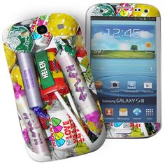Personalised Sweets Samsung Galaxy S3 Phone Skin  from Personalised Gifts Shop - ONLY £7.95