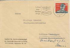 Potsdam Institut fur Archivwissenschaft der Humboldt-Universitat zu Berlin nach Bundesarchiv Koblenz