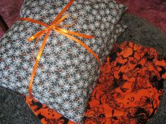 Halloween Pillows by 12dozen on Etsy