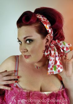 love lollipop scarf domino dollhouse