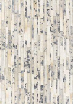 modernrugs.com textured cow skin leather modern rug
