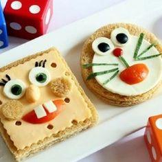 Food Art For Kids, Fun Snacks For Kids, Kids Meals, Cute Food, Good Food, Yummy Food, Healthy Food, Food Carving, Food Garnishes