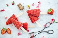 Popsicles - Jahoda, růže, šampaňské