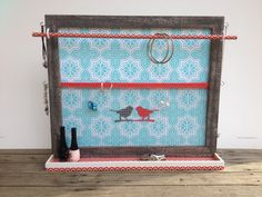 Jewellery/jewelry organiser frame Australian made by PicToFrame