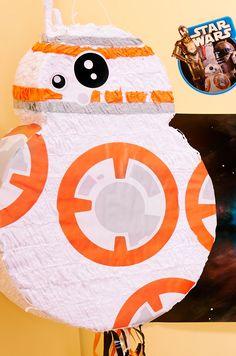 star-wars-7-vii-bb8-birthday-party-ideas-pinata