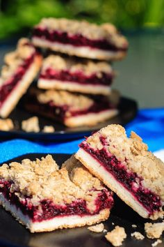 Blackberry Crumble Bars are a great after school treat, too. Perfect while doing homework!