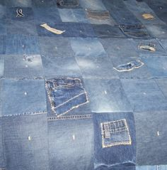 Blanket Quilted Denim  Birthday  Men Women Boys by hcgboottops1111, $129.99