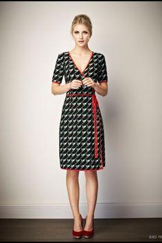 Wallis Wrap  Ruby dress Leona Edmiston