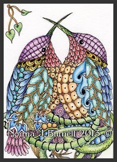 Zentangle In Action on Pinterest   221 Pins