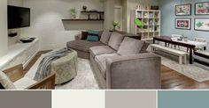 Paint Color Ideas For Basement Family Room - Benjamin Moore Paint Colors For A Basement