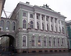18TH CENTURY, Russia -  Vallin de La Mothe (1729-1800): Small Hermitage, Saint-Petersburg, 1764 -7