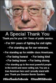 Happy Birthday, Bernie!