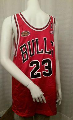 NBA Finals Original Champion Chicago Bulls Michael Jordan Jersey Sz 44  61314ced4