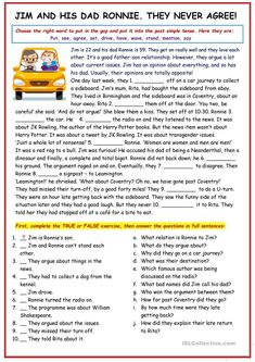 English ESL worksheets, activities for distance learning and physical classrooms (x94507) English Writing Skills, English Reading, English Lessons, Teaching English, Writing Comprehension, Pasado Simple, Grammar Lessons, Vocabulary Activities, Teaching Aids