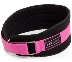 FITGIRL - Pink Weight Lifting Belt - Gym Fitness Crossfit Bodybuilding - Great for Squats Lunges Deadlift Thrusters. Best Weight Lifting Belt, Weight Lifting Equipment, No Equipment Workout, Workout Gear, Gym Workouts, Crossfit Equipment, Gym Gear, Fitness Gifts, Gym Fitness
