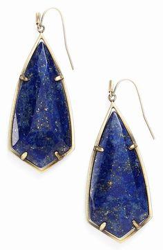 d966c913b NEW Kendra Scott Carla Semiprecious Stone Drop Earrings, Blue Lapis. Free  shipping and guaranteed. Tradesy