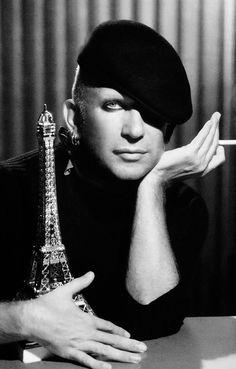 Jean-Paul Gaultier (1952) - French haute couture and Pret-a-Porter fashion designer. Photo © Ali Mahdavi